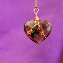Citrine Heart's Stone Designed